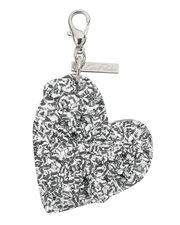 Broken Heart Charm, BLACK, hi-res