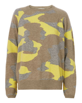 Camo Cashmere Sweater, MULTI, hi-res