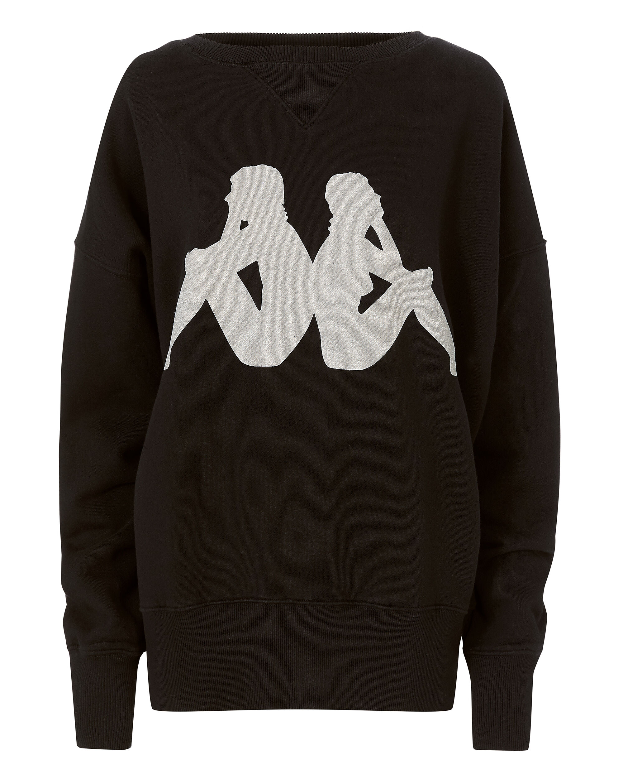 Kappa Los Angeles Sweatshirt, BLACK, hi-res