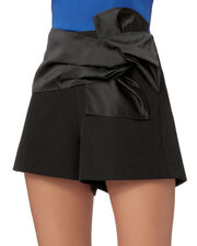 Bowie Twist Front Shorts, BLACK, hi-res