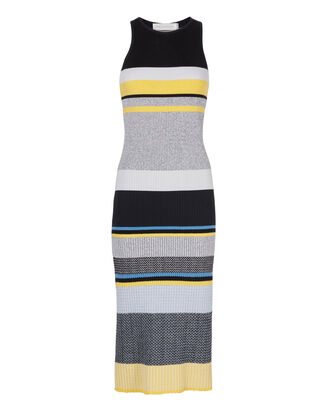 Tank Stripe Knit Dress, MULTI, hi-res