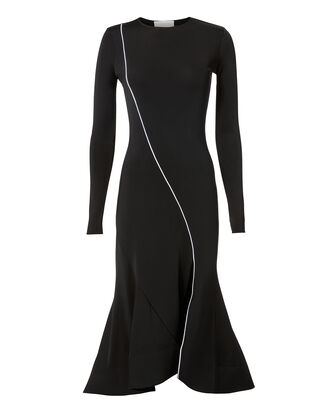 Surf Jersey Dress, BLACK, hi-res