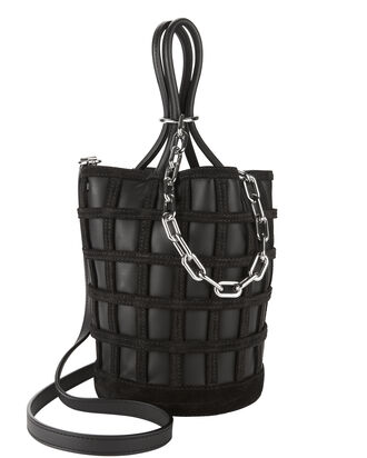 Roxy Cage Bucket Black Bag, BLACK, hi-res