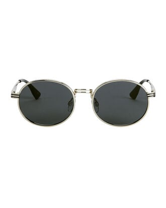 Unpredictable Bright Gold Circle Sunglasses, GOLD, hi-res