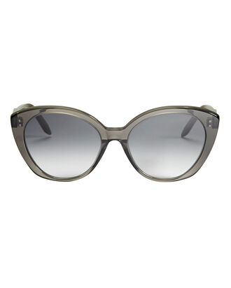 Exaggerated Kitten Sunglasses, GREY, hi-res