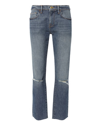 Le Boy Ripped Cropped Jeans, DENIM, hi-res