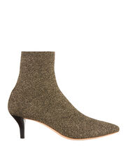 Kassidy Glitter Kitten Heel Booties, METALLIC, hi-res
