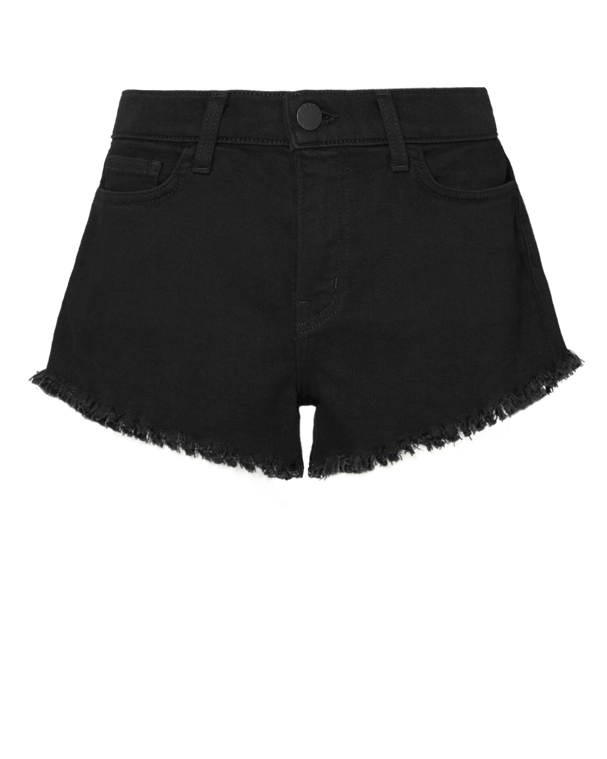 Zoe Perfect Black Shorts, BLACK, hi-res