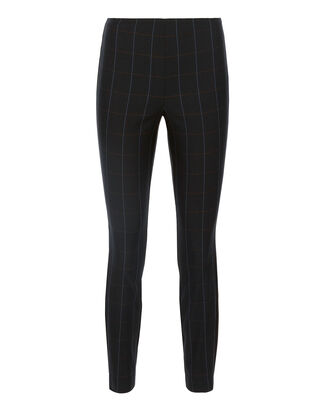 Windowpane Simone Pants, NAVY, hi-res