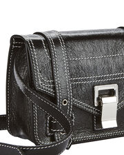 PS1 Mini Patent Leather Crossbody, BLACK, hi-res