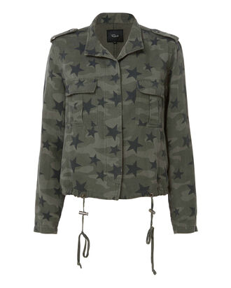Star-Printed Camo Jacket, PRINT, hi-res