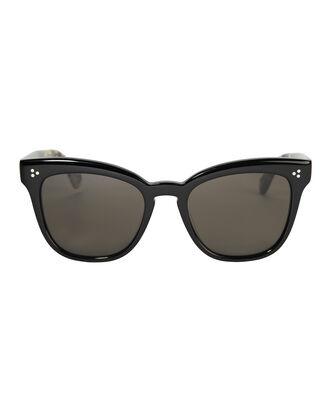 Marianela Cat Eye Sunglasses, BLACK, hi-res