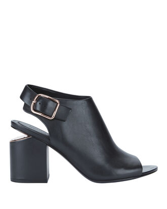 Nadia Peep-Toe Booties, BLACK, hi-res