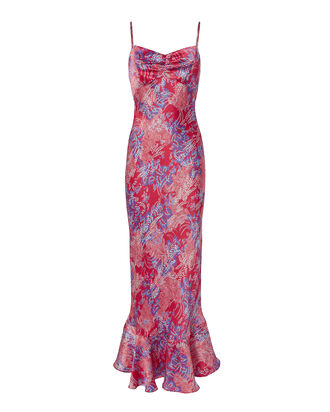 Mimi Maxi Dress, PRINT, hi-res