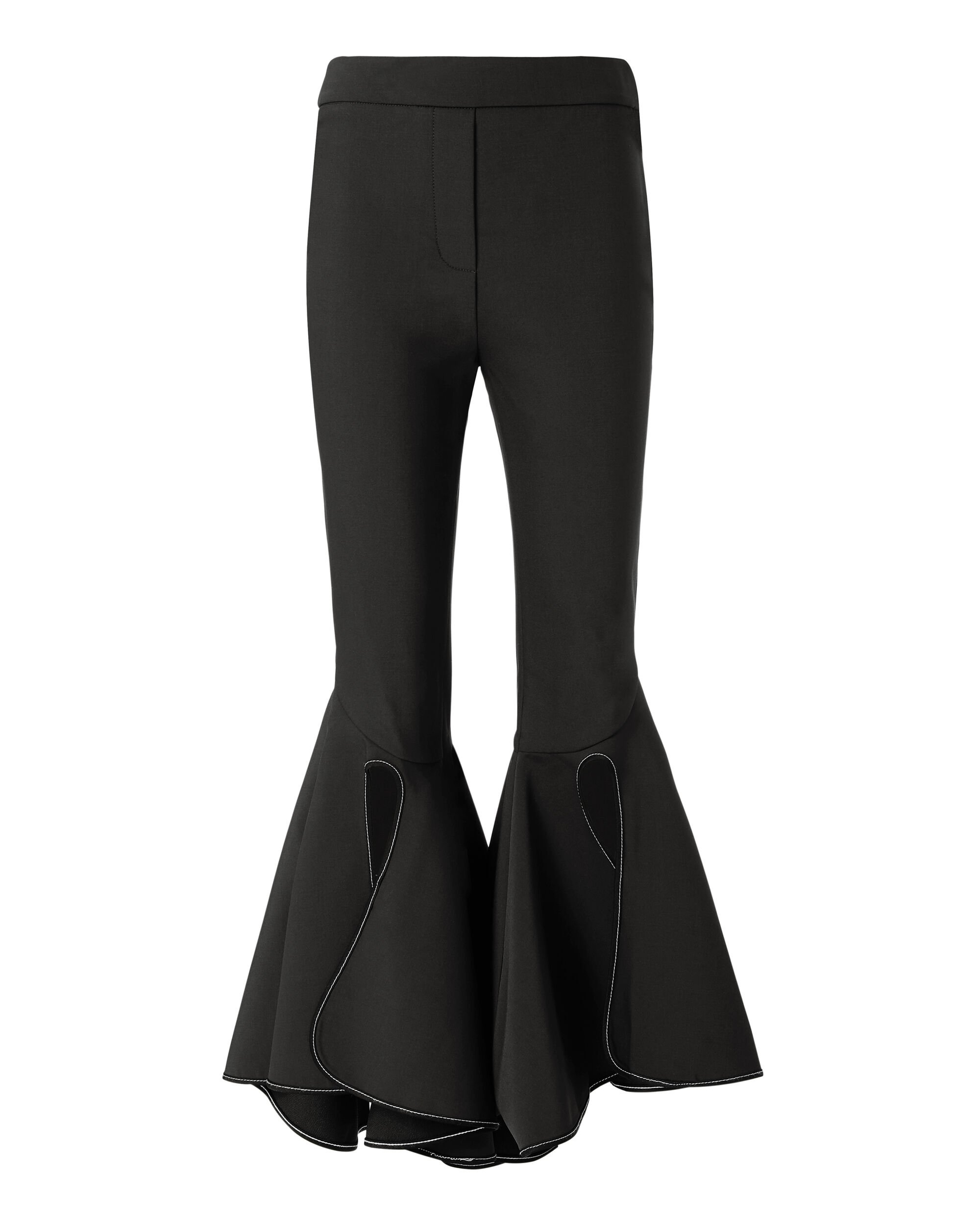 Ox Bow Crop Flare Pants, BLACK, hi-res