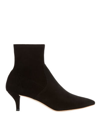 Kassidy Sock Booties, BLACK, hi-res
