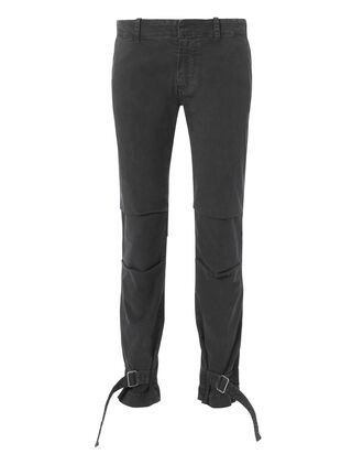 Bradley Buckle Pants, BLACK, hi-res