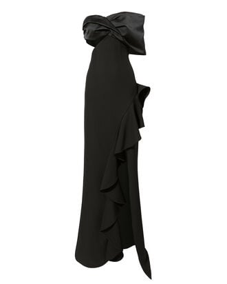 Addison Gown, BLACK, hi-res
