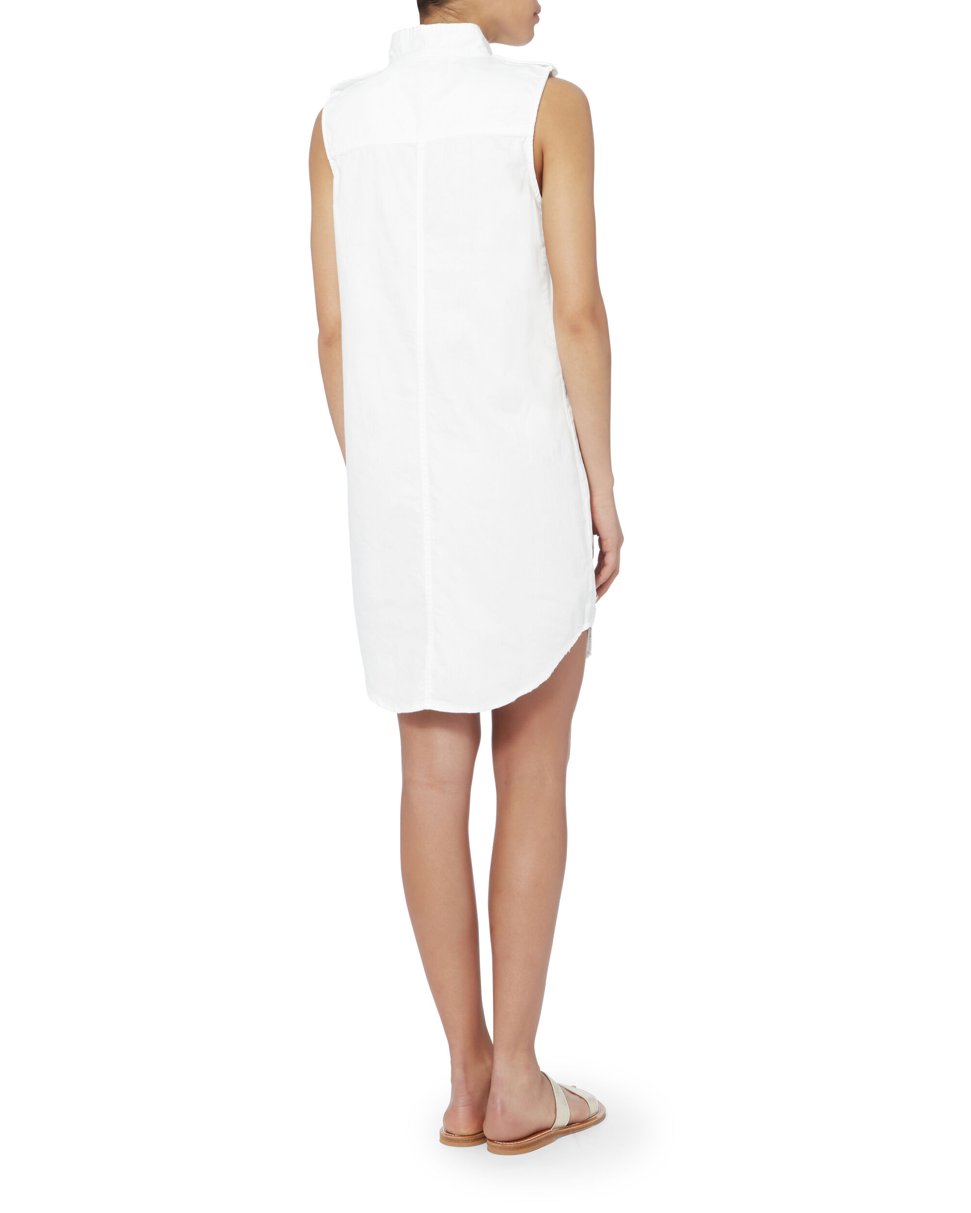Freda Shift Dress, WHITE, hi-res