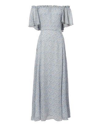 Evelyn Maxi Dress, BLUE-LT, hi-res