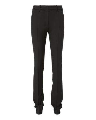 Black High-Rise Skinny Pants, BLACK, hi-res