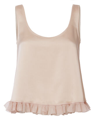 Andrea Crop Top, BEIGE/KHAKI, hi-res