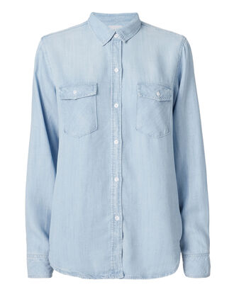 Porter Vintage Denim Shirt, DENIM, hi-res
