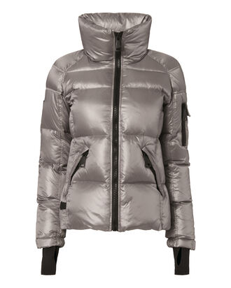 Freestyle Platinum Puffer Jacket, METALLIC, hi-res