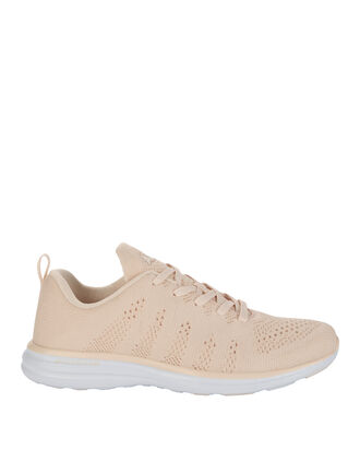 TechLoom Pro Cashmere Nude Performance Sneakers, BLUSH/NUDE, hi-res
