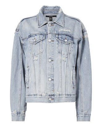 Havoc Street Oversized Denim Jacket, DENIM, hi-res