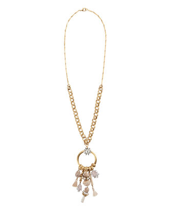 Gerda Charm Pendant Necklace, BLUSH/NUDE, hi-res