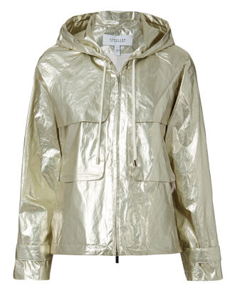 Light Gold Anorak, METALLIC, hi-res