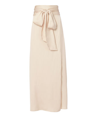 Almeria Wrap Maxi Skirt, BLUSH/NUDE, hi-res