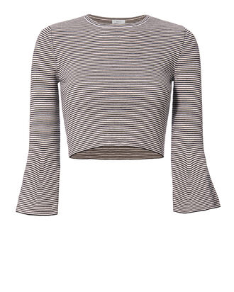 Shiloh Striped Bell Sleeve Top, PATTERN, hi-res
