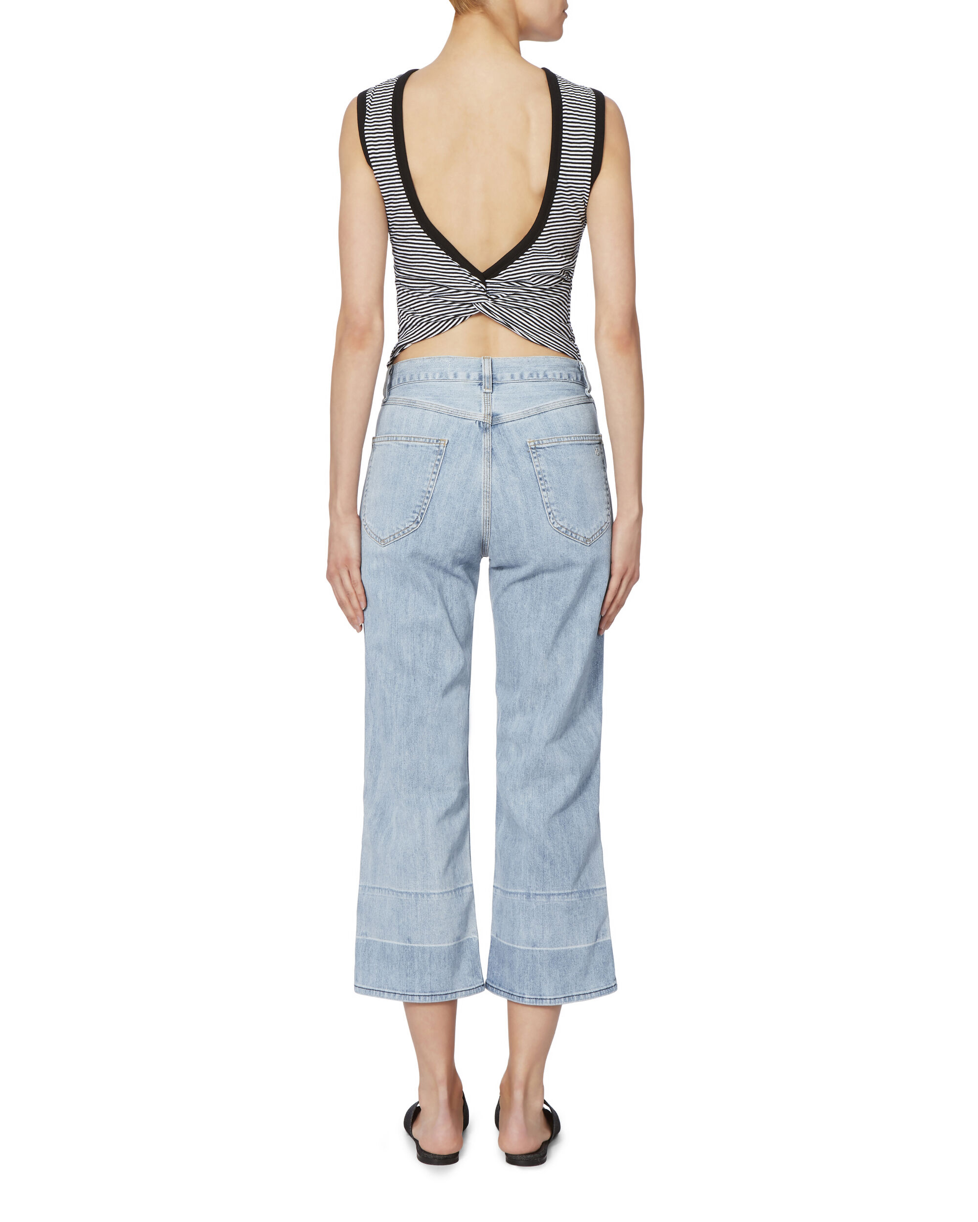 Lou High-Rise Crop Jeans, DENIM, hi-res