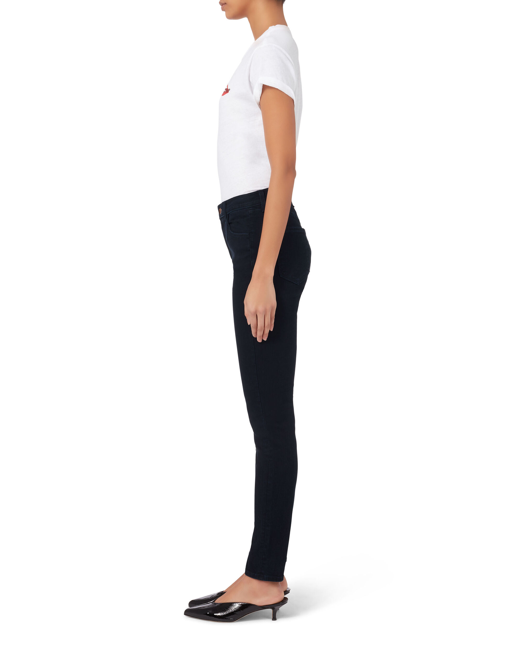 High-Rise Maria Skinny Jeans, DENIM-DRK, hi-res