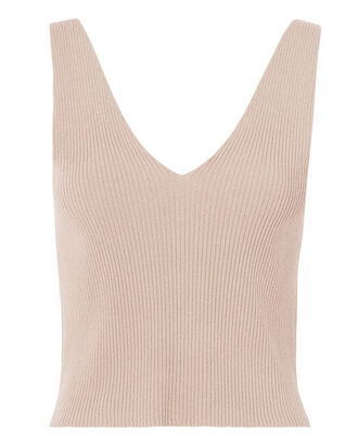 Cora Lurex Knit Top, BLUSH, hi-res