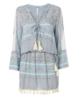 Chloe Morning Glory Tunic Dress, PRINT, hi-res