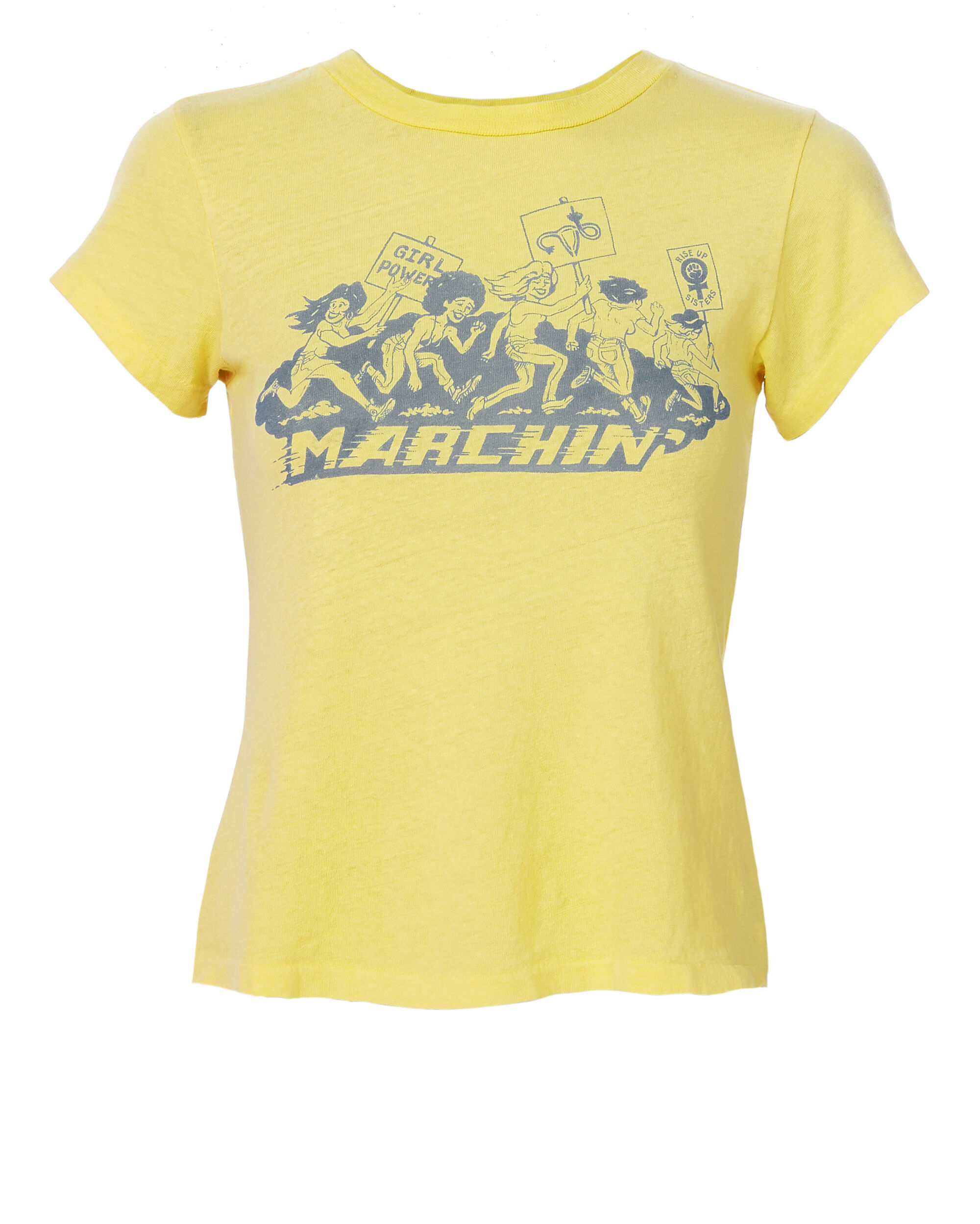 Marchin' Tee, YELLOW, hi-res