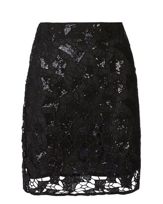 Juva Mini Skirt, BLACK, hi-res