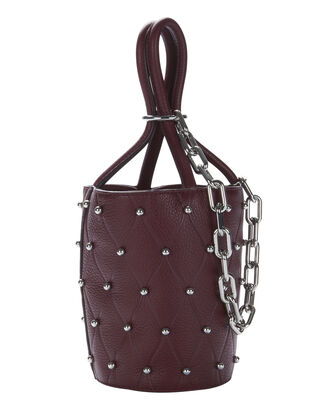 Roxy Beet Stud Mini Bucket Bag, RED-DRK, hi-res