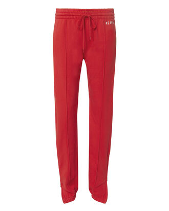 Classic Red Sweatpants, RED, hi-res