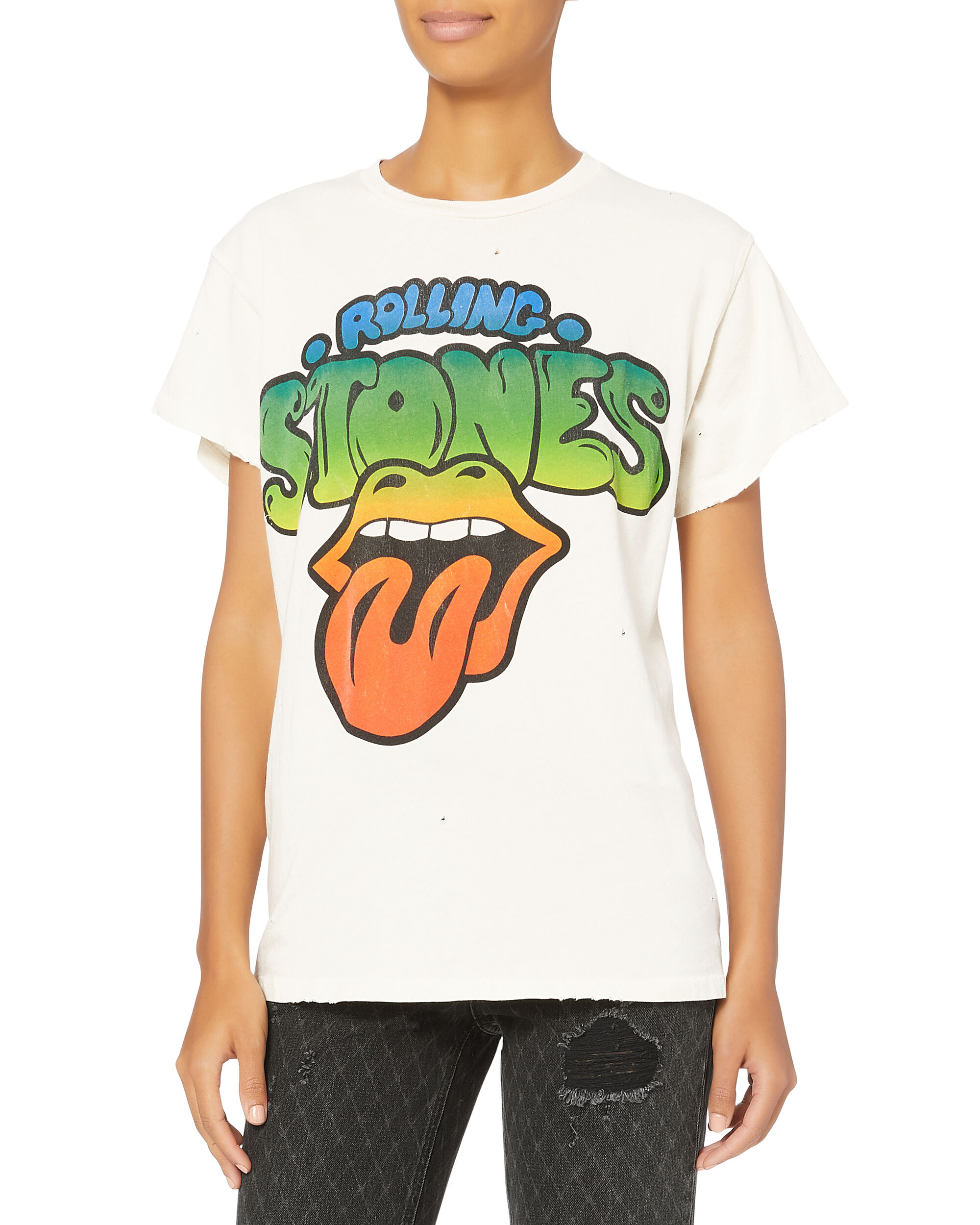 Rolling Stones T-Shirt, WHITE, hi-res