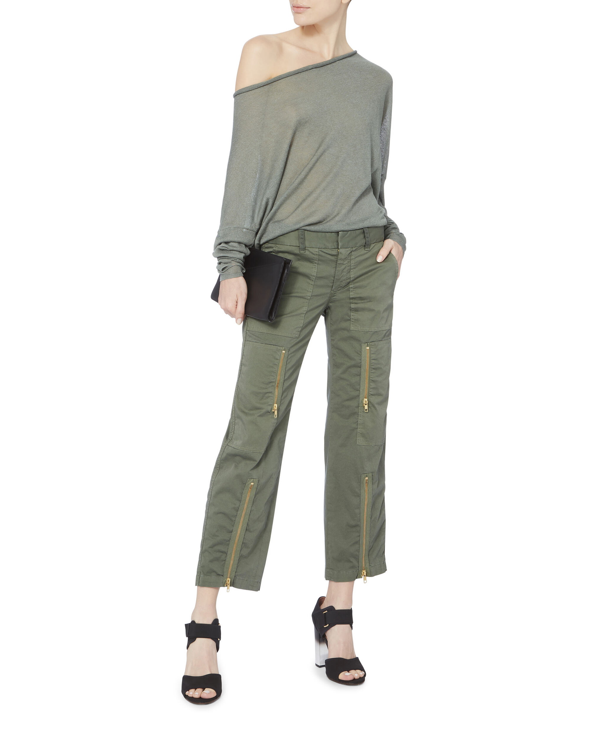 Kennedy Cargo Pants, GREEN, hi-res