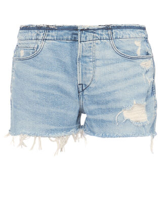 Shelter Cutoff Shorts, DENIM, hi-res