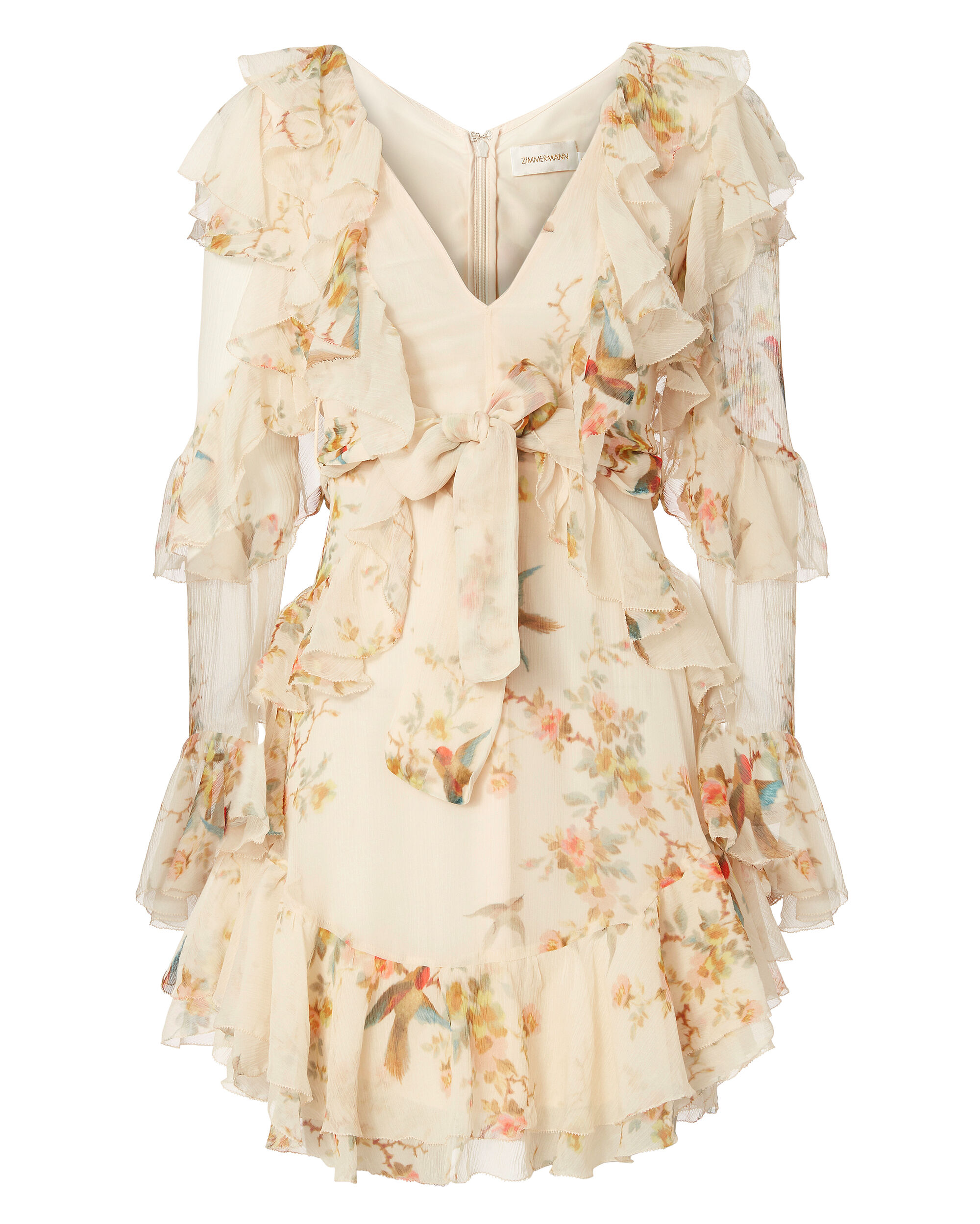 Folly Flutter Dress, , hi-res