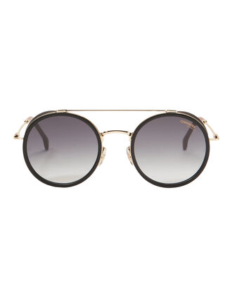 Gold Round Sunglasses, GOLD, hi-res