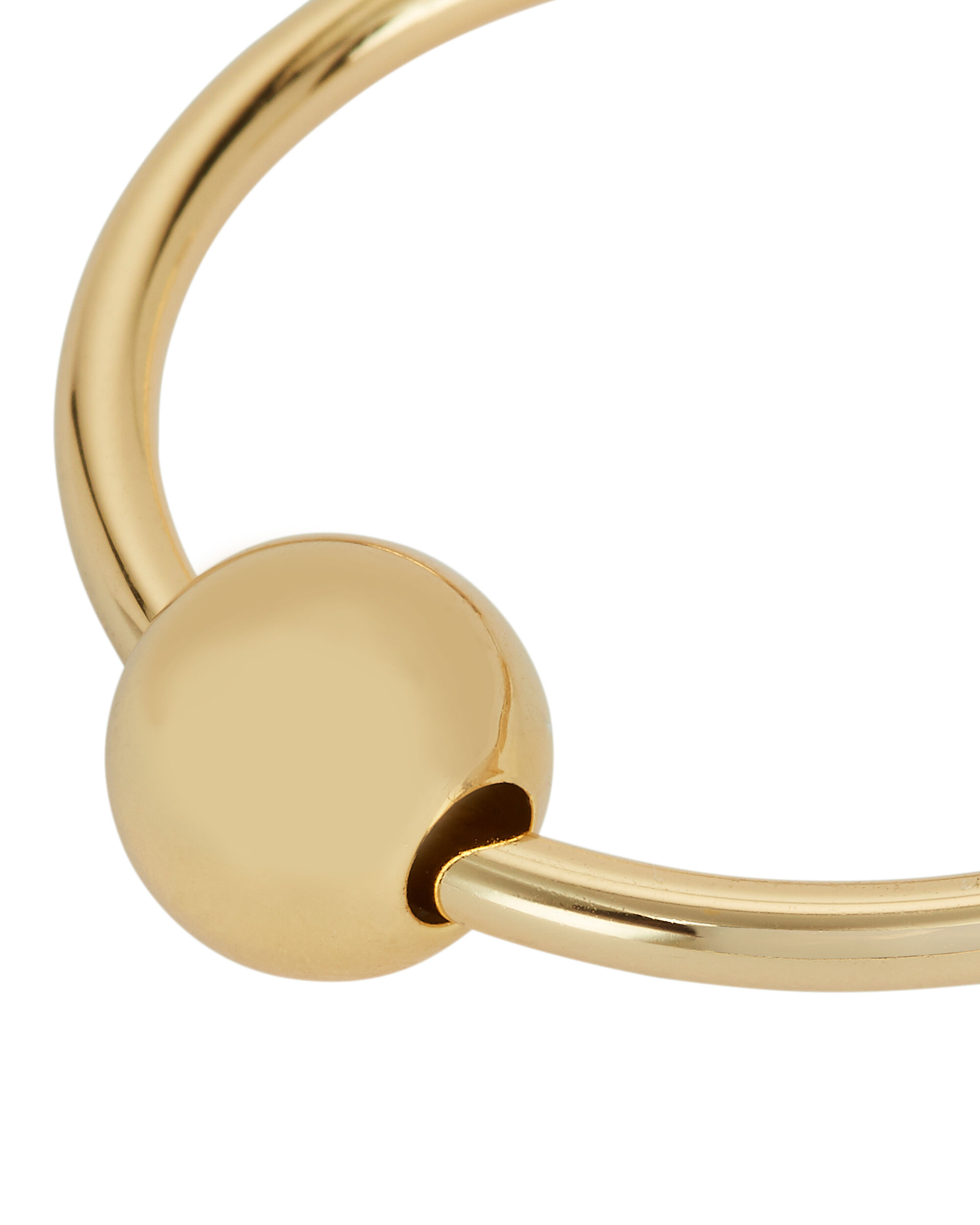 Gold Ball Hoops, GOLD, hi-res