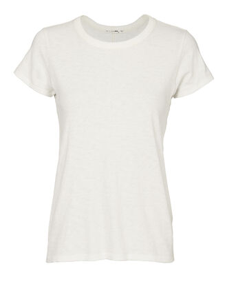 The Crew Neck Tee, WHITE, hi-res