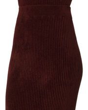 Ribbed Sweater Skirt, PURPLE-DRK, hi-res